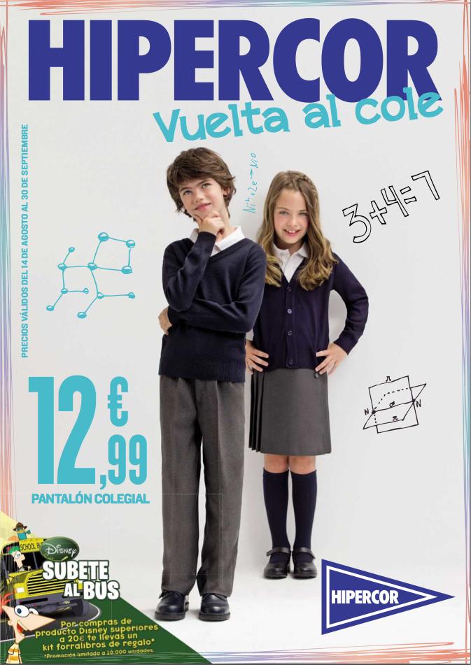 e03f585020c38 Nuevo catálogo Hipercor para la vuelta al cole 2012