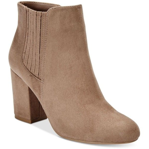 Call It Spring Pietraia Booties ($69) ❤ liked on Polyvore featuring shoes,  boots