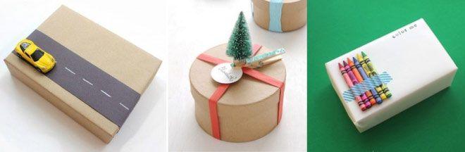 Como envolver regalos de forma original - Niños Regalos de Navidad
