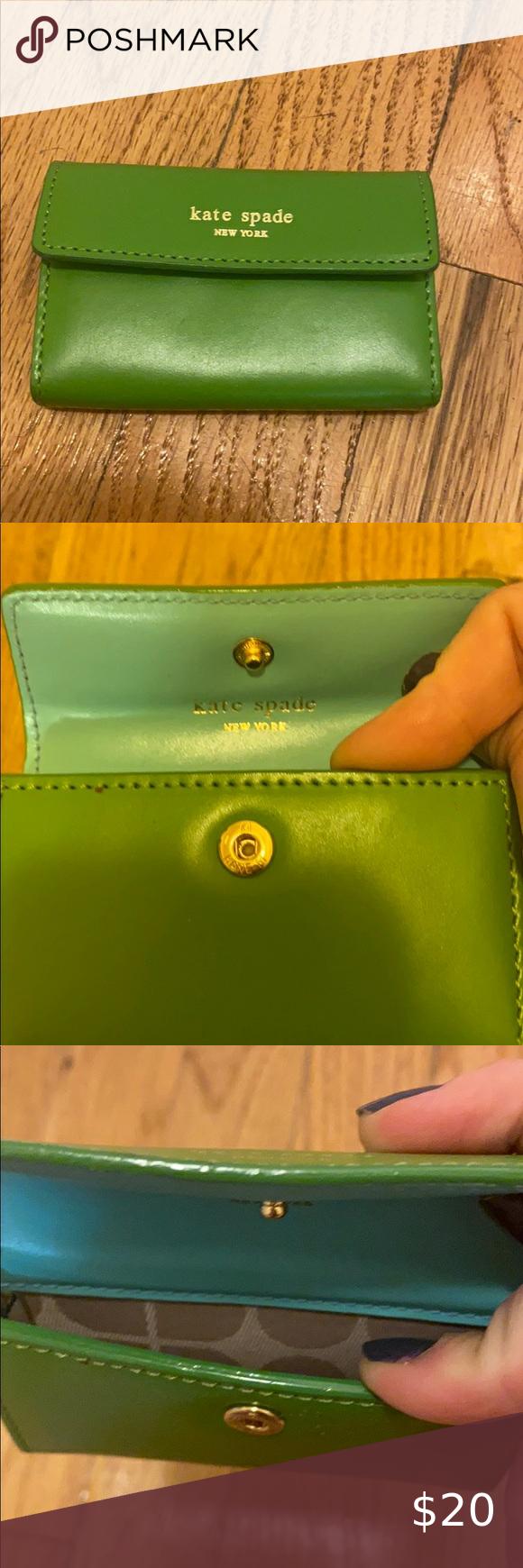 Kate Spade Business Card Holder Kate Spade Wallet Black Kate Spade Card Holder Kate Spade Passport Holder