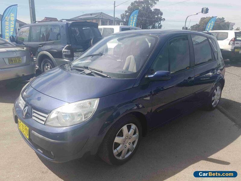 2005 Renault Scenic Dynamique Blue Manual 5sp M Wagon #renault #scenic #forsale #australia