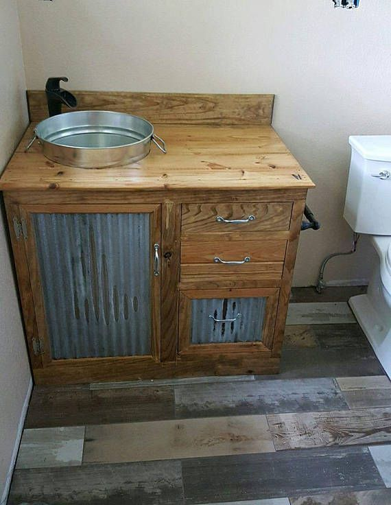 30+ Best Ideas About Rustic Bathroom Vanities You'll Love #rusticbathrooms