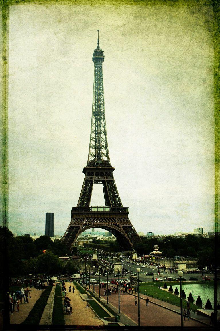 Eiffel Tower (With images) Paris skyline, Eiffel tower