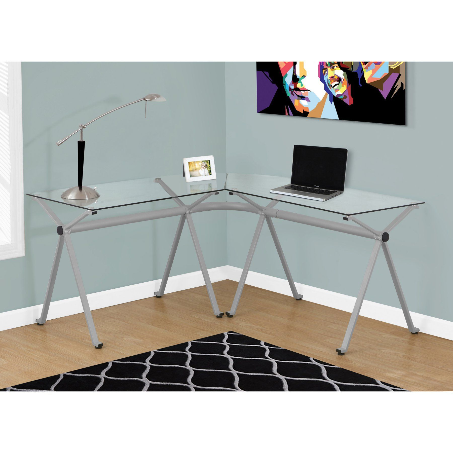 Monarch specialties lshaped computer desk i products