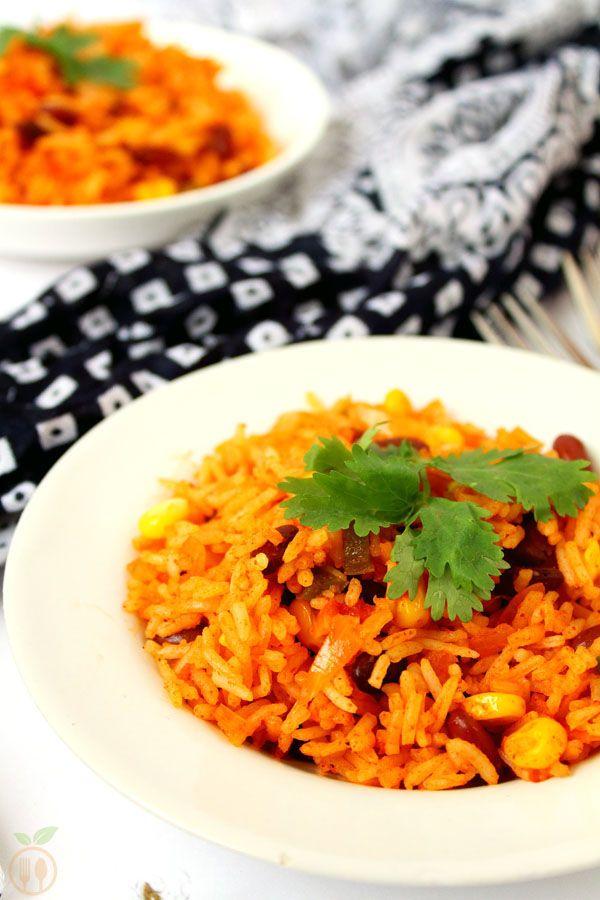Veg Mexican Fried Rice Recipe Veggie Food Recipes Recipe Mexican Fries Mexican Fried Rice Rice Recipes