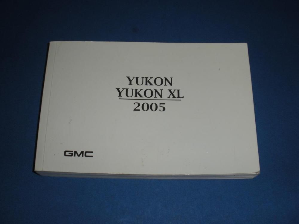 2005 gmc yukon yukon xl owners manual book guide owners manuals rh pinterest com 2005 GMC Yukon Interior 2005 GMC Yukon Interior