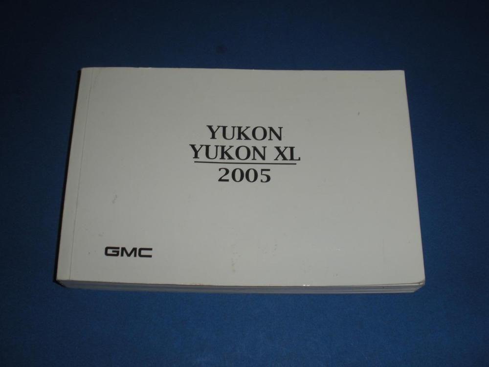 2005 gmc yukon yukon xl owners manual book guide owners manuals rh pinterest com 2005 GMC Yukon Interior owners manual for 2004 gmc yukon xl