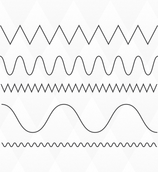 Drawing Straight Lines With Brush In Photo : Quick tip how to create wavy and zig zag lines in