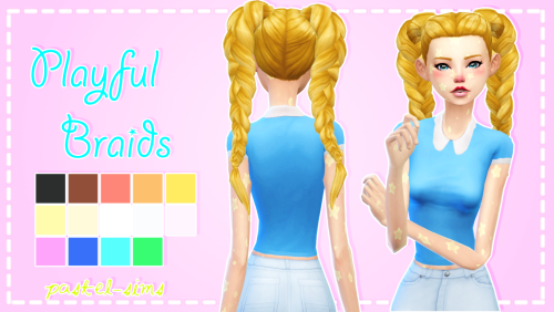 En Su Backup Oficial Sims Hair Braided Hairstyles For Wedding Sims