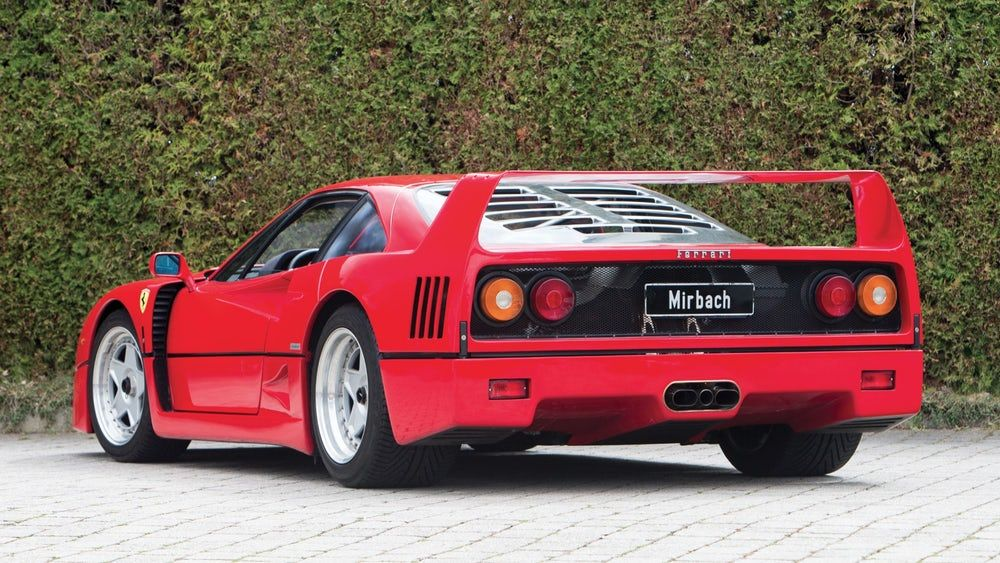 Built for Ferrari\'s 40th birthday, the F40 is one of those very rare ...