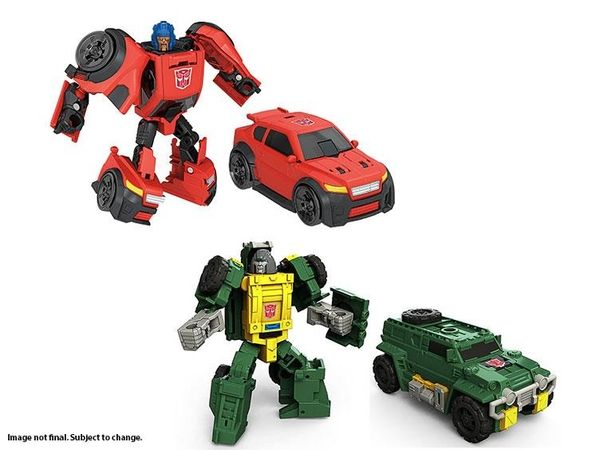 Hasbro Transformers Generations Titans Return Brawn Legends Action Figures Toy