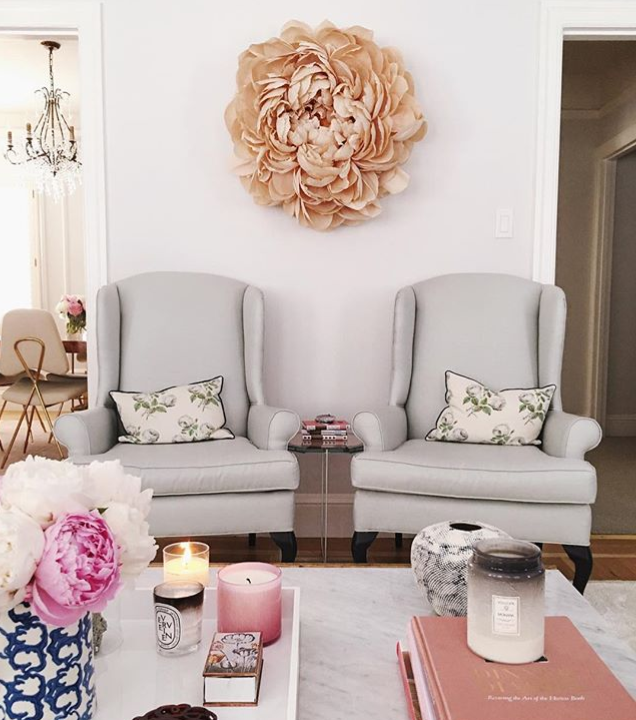 Flower Decor In Loft Space Or Living Room Either Side Of Fireplace With Images Home Decor Home Living Room Interior