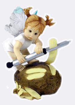 Peeling Potato Fairie My Little Kitchen Fairies Series 4