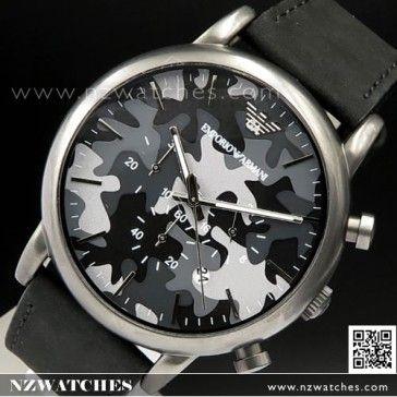 1cc9b14faf6 Emporio Armani Classic Black Leather Strap Men Watch AR0428