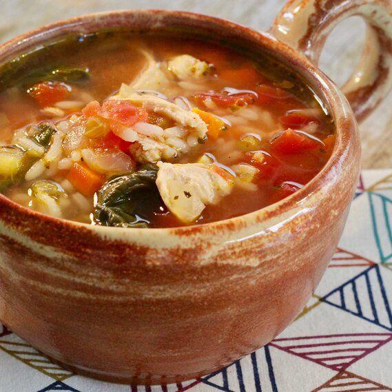 Photo of Chicken Florentine Soup