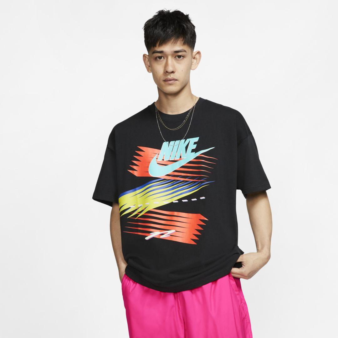 Nike x atmos Men's T Shirt Size 2XL (Black) | Nike running