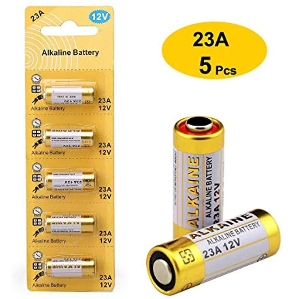 Licb 23a 12v Alkaline Battery Used In Garage Door Opener Remote Control 5 Pack Licb Battery