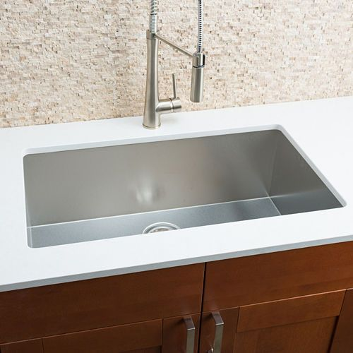 Hahn Chef Series Handmade Extra Large Single Bowl Sink Single