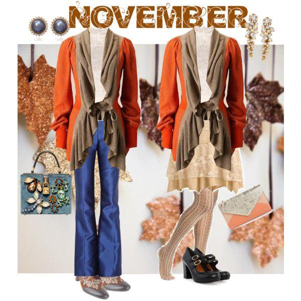 """""""November"""" by di-ma-rivera on Polyvore"""