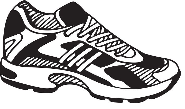 tennis shoe clipart 1 penny wars pinterest clip art and patterns rh pinterest com Shoe Clip Art Black and White Shoe Clip Art Black and White