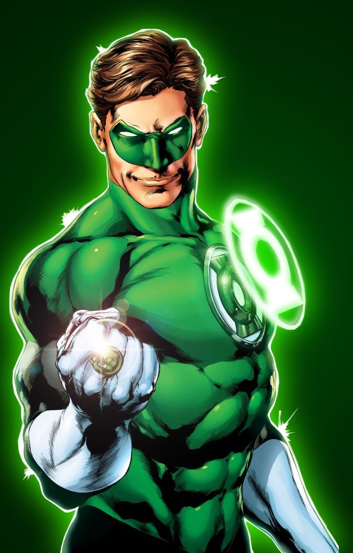 Green Lantern Linterna Verde Superheroes Dibujos Personajes Dc
