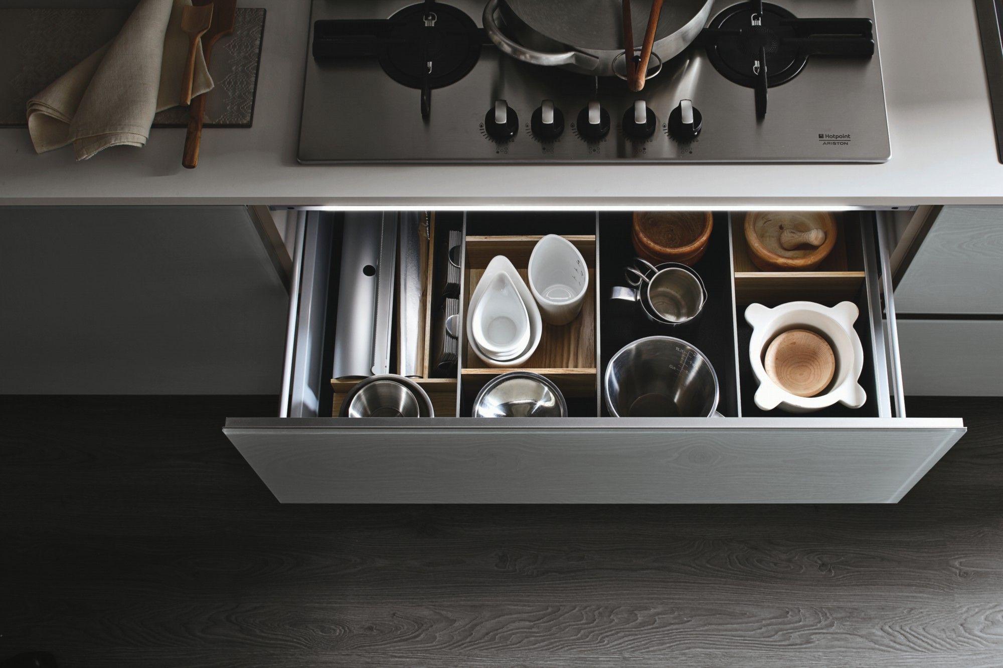 le cucine componibili moderne di stosa cucina originali ed eclettiche anche nei cassetti cucine