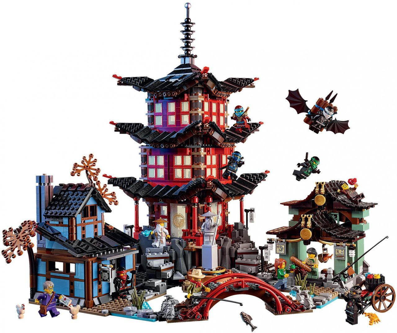 Lego Ninjago 70751 Tempel Of Airjitzu Lego Ninjago Lego Friends Lego City