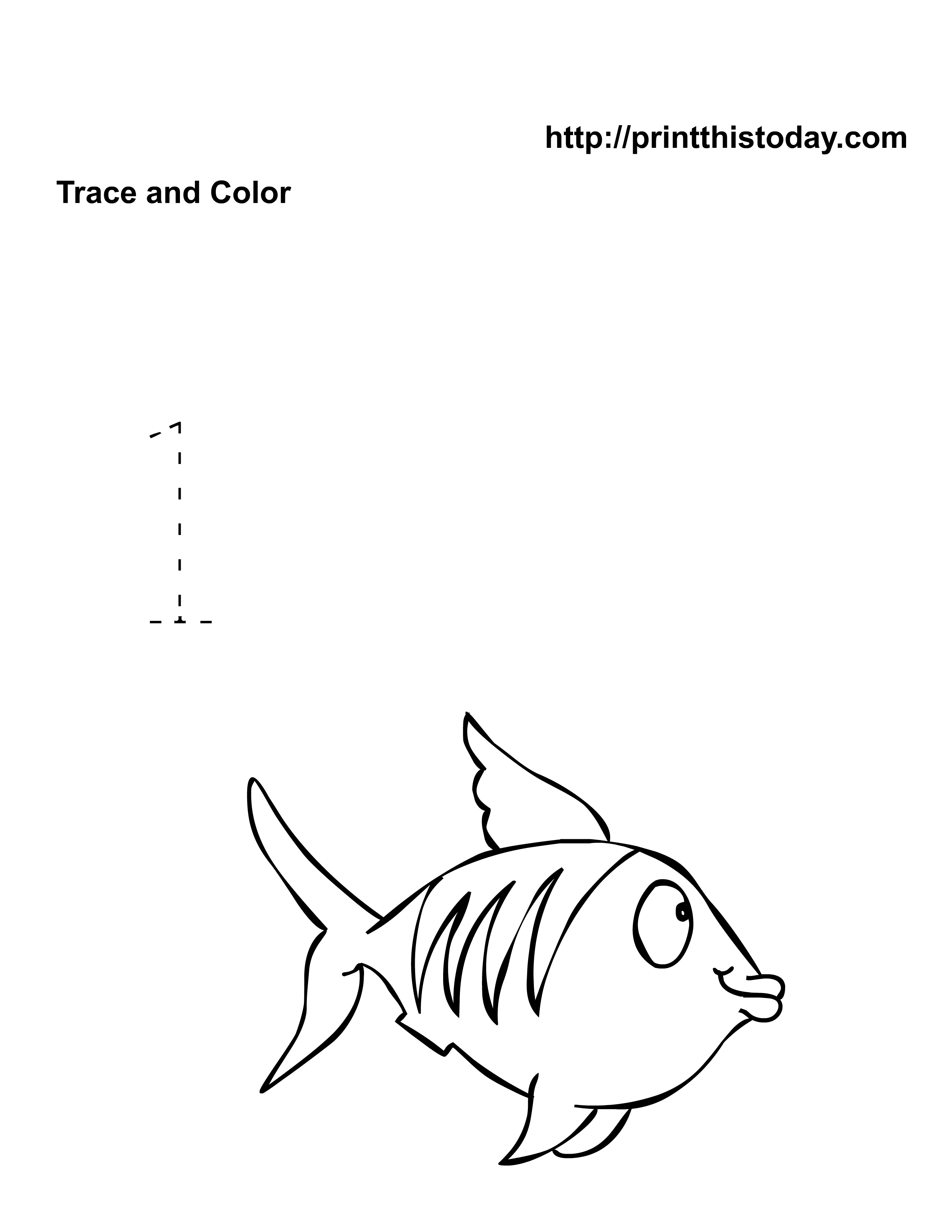 Awesome Color By Number Fish