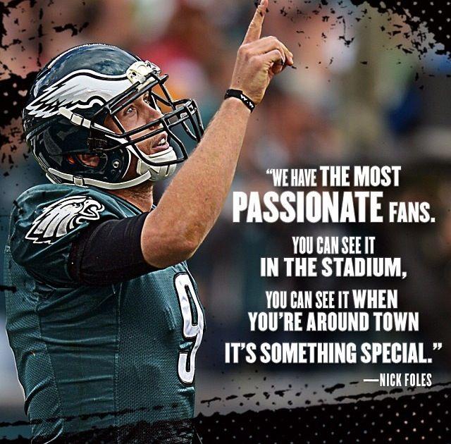 Nick Foles Thanks Nick Yes We Are Philadelphia Eagles Football Philadelphia Eagles Eagles Football