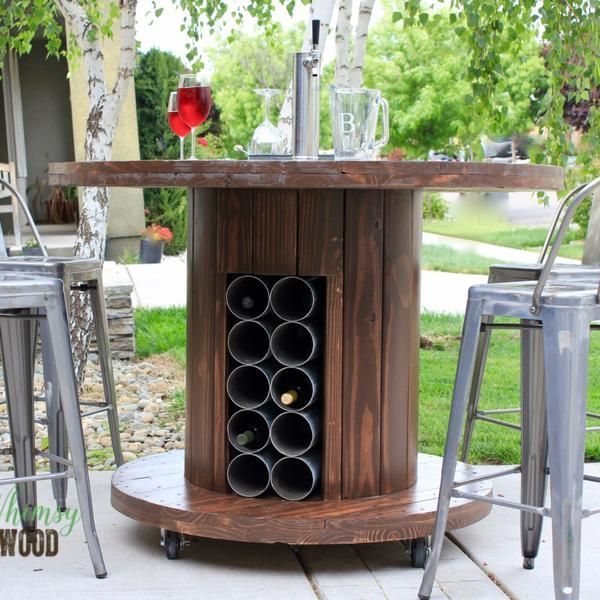 How to Make This Cable Spool Patio Set - Whimsy and Wood #cablespooltables How to Make This Cable Spool Patio Set - Whimsy and Wood #cablespooltables How to Make This Cable Spool Patio Set - Whimsy and Wood #cablespooltables How to Make This Cable Spool Patio Set - Whimsy and Wood #cablespooltables