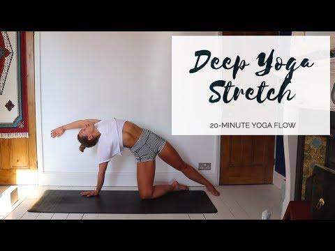DEEP YOGA STRETCH 20Minute All Levels Yoga CAT MEFFAN