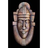 HANDMADE TERRACOTTA TRIBAL MASK 4   ASSURED FREE GIFT