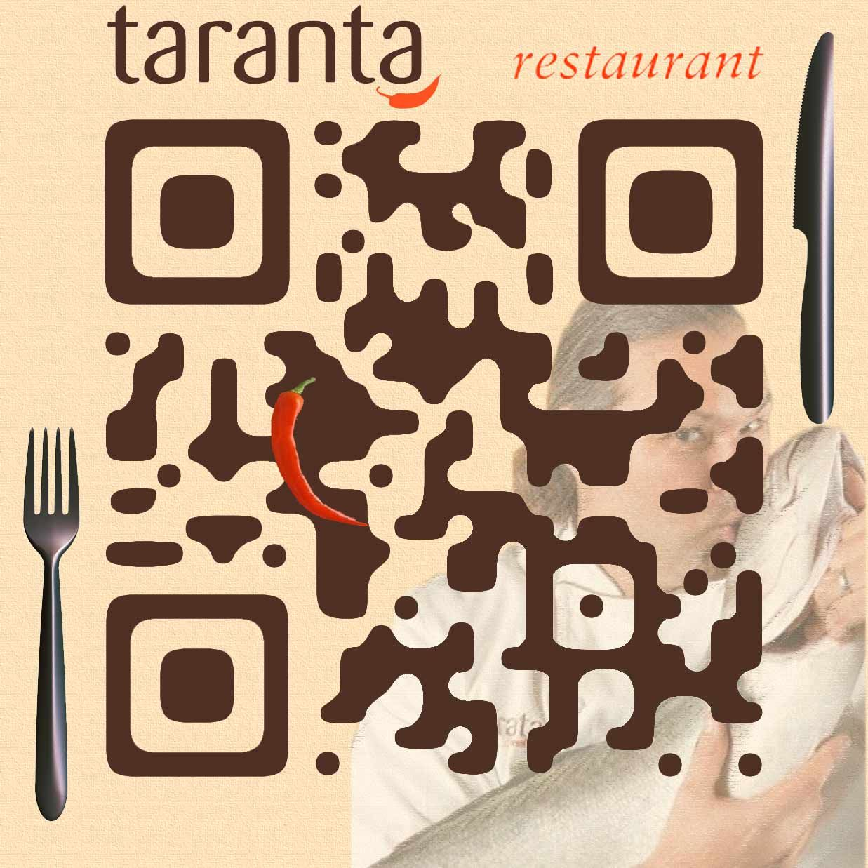 Awesome idea for business carddesign qr code for taranta restaurant awesome idea for business carddesign qr code for taranta restaurant in boston colourmoves