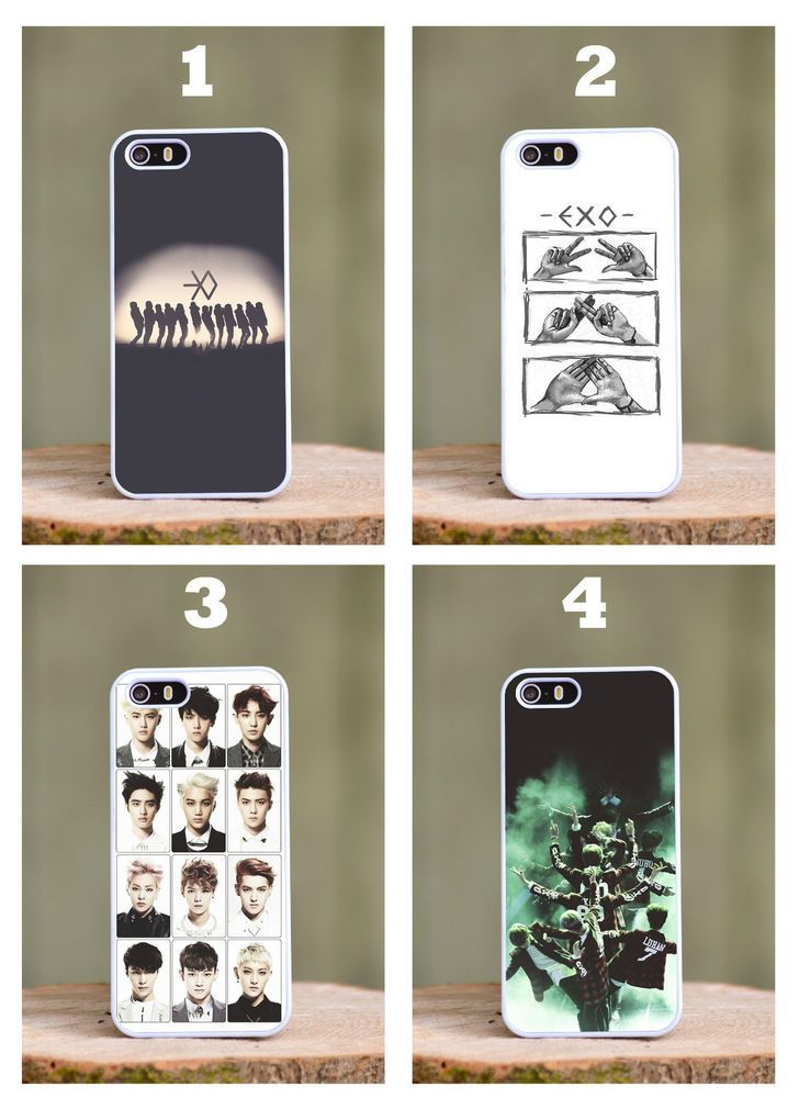 kpop iphone cases exo korean boy band pop phone cover fits apple 12558