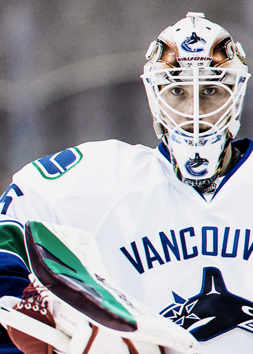 Jacob Markström Vancouver Canucks (With images