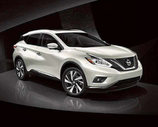 Nissan Murano Platinum Awd Shown In Pearl White With Led Daytime Running Lights Nissan Murano Nissan Suv Models