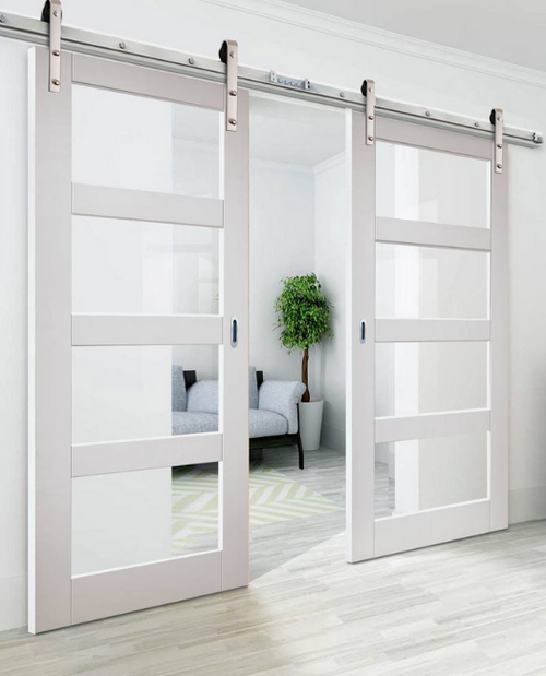31++ Double barn doors with glass inspirations
