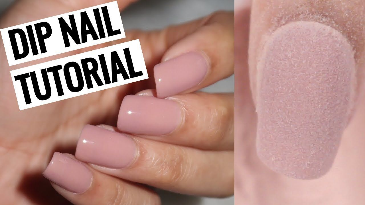 How to do dip nails at home revel nail youtube