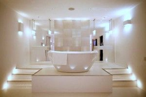 How To Create A Spa Look For Your Bathroom With Light And More