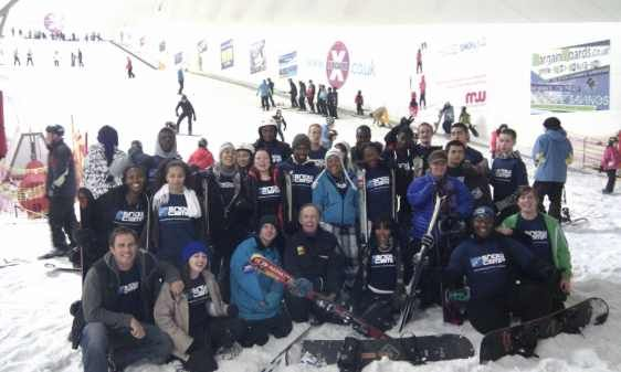 Snowcamp Supports Teens Through Team Building Activities Holiday