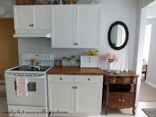 1980's Melamine Cupboard Update | Kitchen cabinet remodel ...