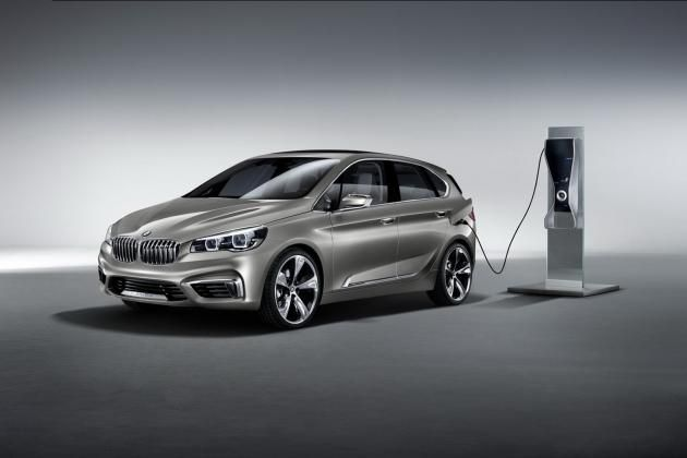 BMW Active Tourer Concept Shows Off The FWD 1-Series Gran Turismo