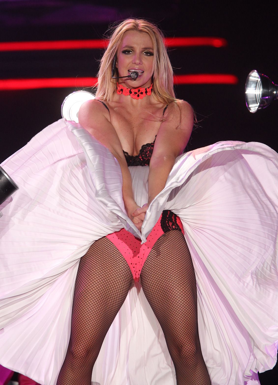 Fishnet pantyhose spears britney