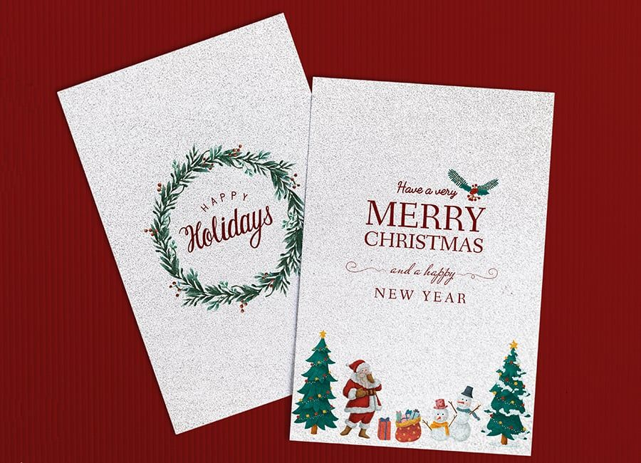 Free Christmas Invitation Templates for Party and Holiday