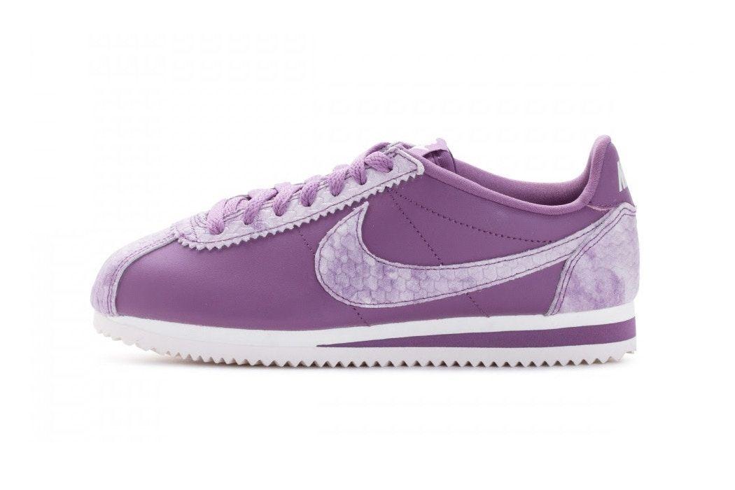 6192119173 Nike Drips Purple Poison on the Classic Cortez Premium