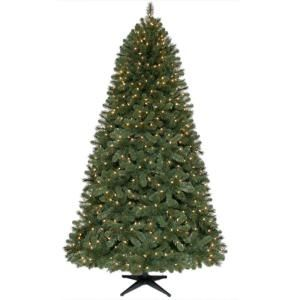 7 5 Ft Pre Lit Artificial Wesley Pine Christmas Tree With Clear Lights West1400650cl1 A Pre Lit Christmas Tree Artificial Christmas Tree Christmas Tree Themes