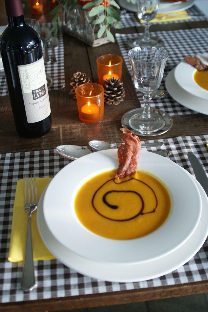Pumpkin Soup (Kürbissuppe)