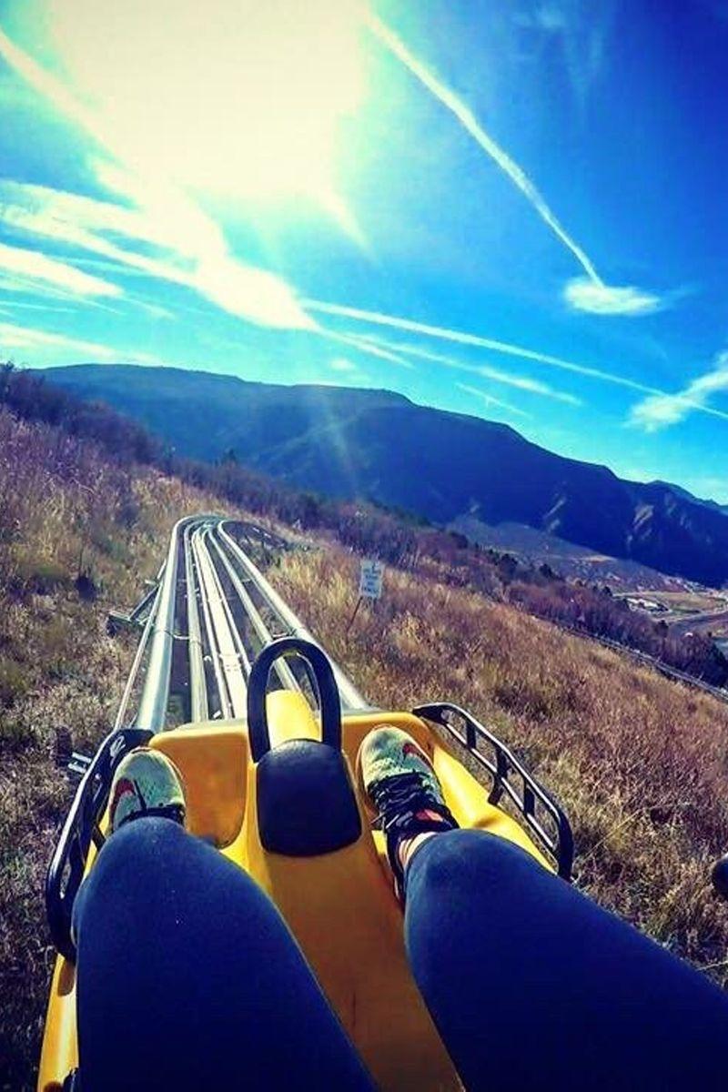Colorado usa denver mountain coaster attractions