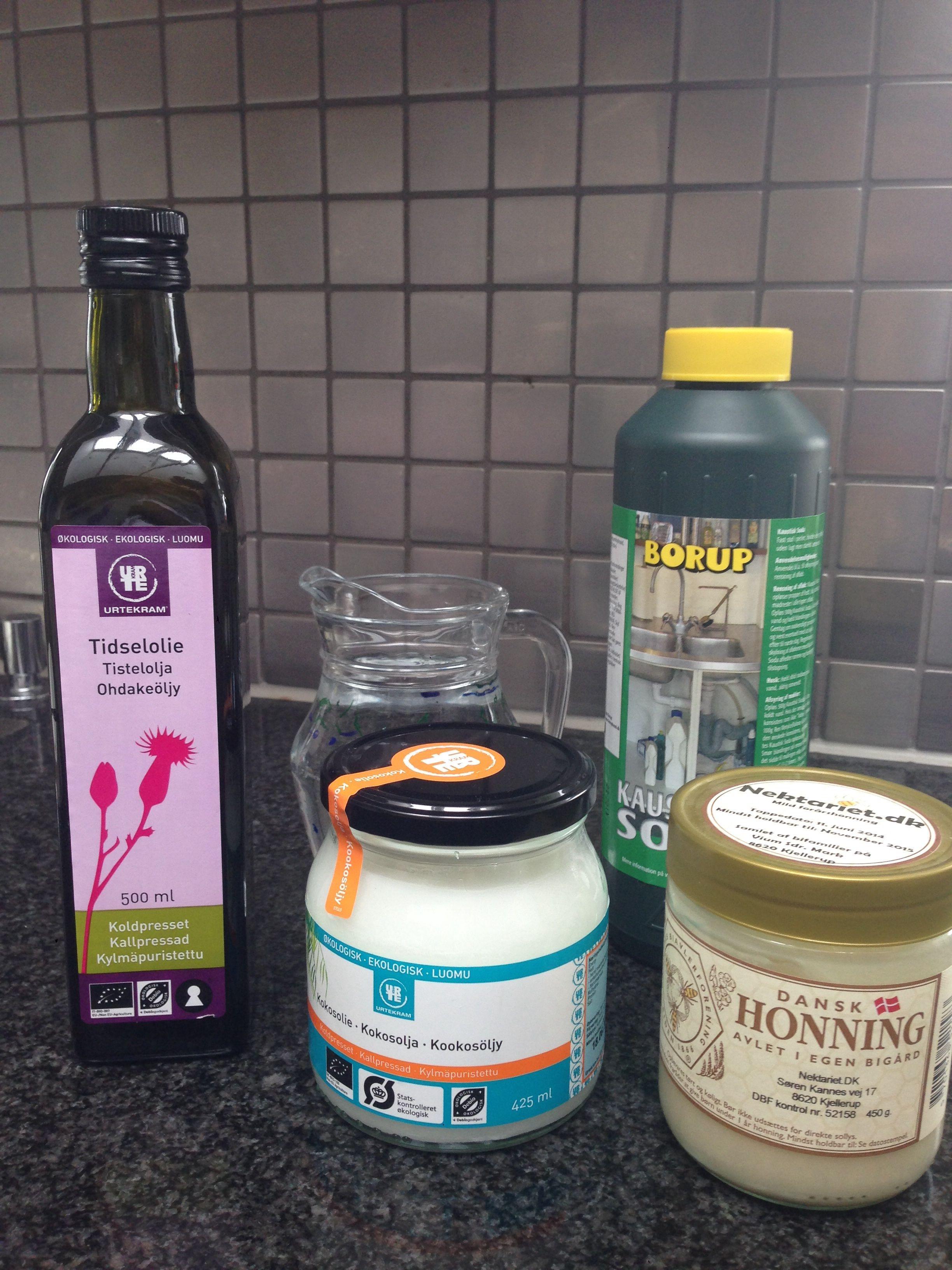 hjemmelavet shampoo opskrift