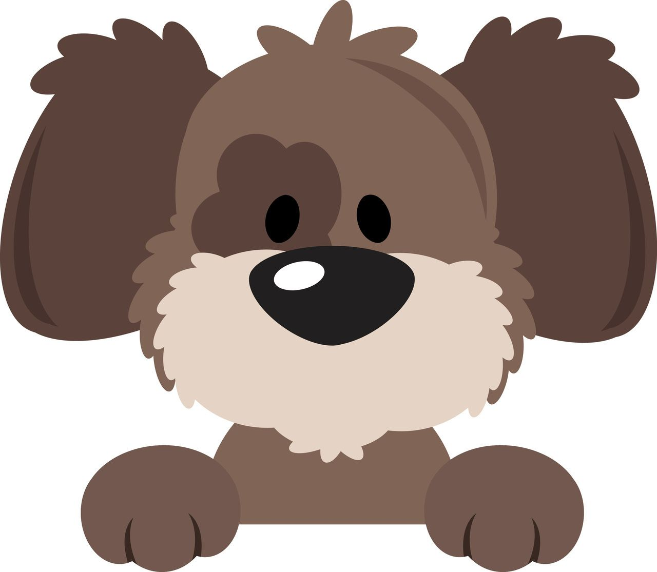 cute puppy peeker el arte pinterest paper piecing patterns rh pinterest com puppies clip art free puppies clipart free